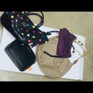 4 shoulder bags Dooney & Bourke gap lulu's
